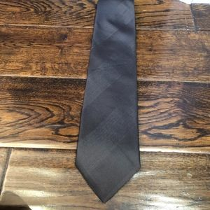 Hugo Boss silk black tie